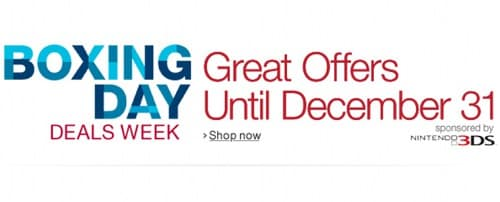 Boxing Day en Amazon UK