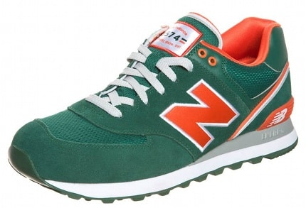new balance ml574 rojas baratas
