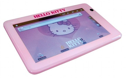 Tablet Hello Kitty, tablets baratas, ofertas en tablets