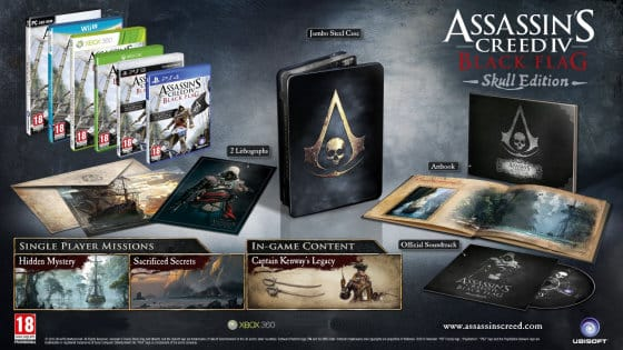 Assassins Creed Black Flag Skull Edition barato, juegos para XBOX 360 baratos, ofertas en juegos para XBOX 360