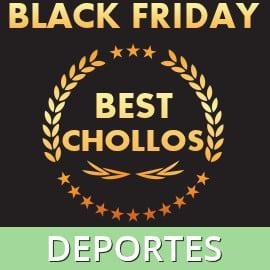Los mejores chollos del Black Friday en deportes, material deportivo barato, ofertas en material deportivo