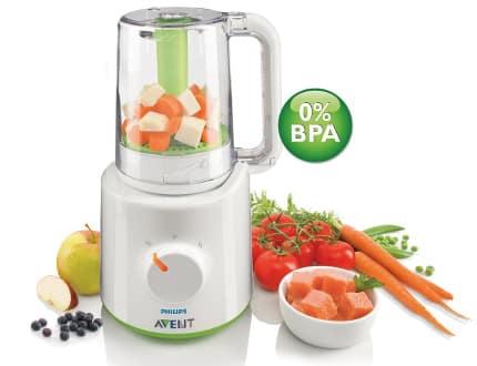 Robot de cocina para bebes Philips Avent SCF870, robots de cocina baratos, ofertas en robots de cocina