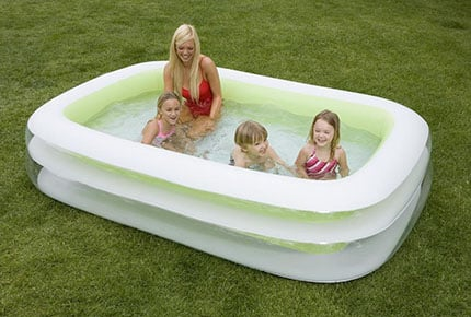 Chollo piscina hinchable intex s lo 28 euros ahorras 10 for Piscinas grandes baratas