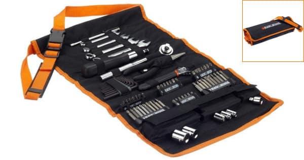 Pack de herramientas 76 piezas Black & Decker A7063-QZ barato, ofertas en herramientas, herramientas baratas, chollo
