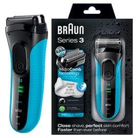 Afeitadora Braun Series 3 340s-4, 3040, afeitadoras baratas, ofertas en afeitadoras
