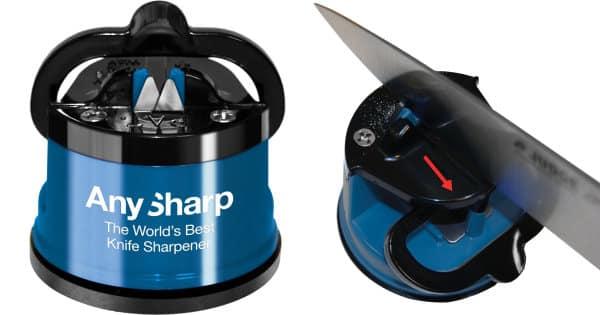 Afilador de cuchillos AnySharp barato, ofertas en afiladores de cuchillos, afiladores baratos, chollo