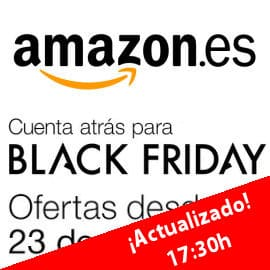 Black Friday en Amazon España, ofertas Flash miércoles 23 noviembre, ofertas en Amazon, chollos en Amazon, miercoles
