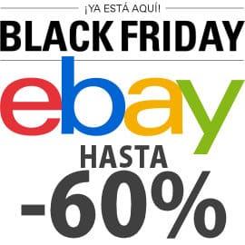 Black Friday en eBay del 26 al 30 de Noviembre de 2015, móviles baratos, consolas baratas, aspiradores baratos, televisores baratos