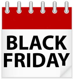 Calendario Black Friday 2015. Viernes negro en Amazon, Ebay, Rakuten