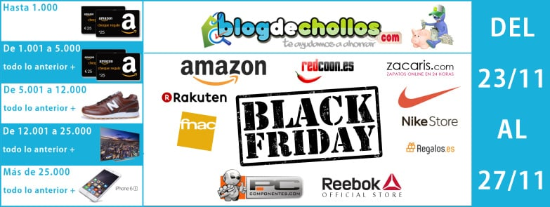 Sorteo Black Friday Blogdechollos