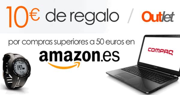 10-euros-regalo-outlet-amazon, chollo