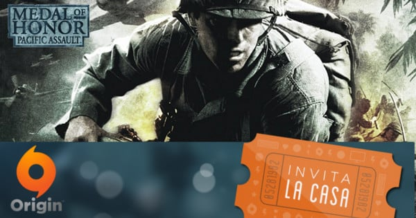 Juego Medal of Honor Pacific Assault gratis Origin. Ofertas en videojuegos, videojuegos baratos, chollo