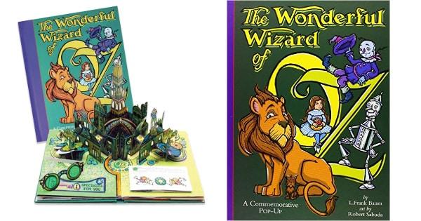 Libro pop up Mago de Oz barato, libros baratos, ofertas en libros chollo