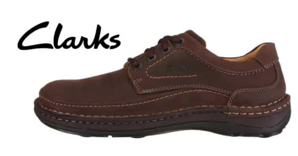 Zapatos Derby Clarks Nature Three marrón ébano. Ofertas en zapatos, zapatos baratos, chollo