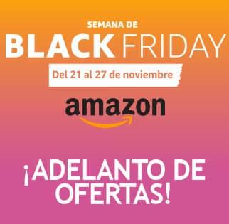 Adelanto de ofertas Black Friday 2016 Amazon España