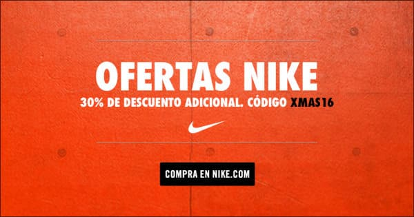 Black Friday 2016 en Nike, zapatillas de running baratas, camisetas baratas, chollo