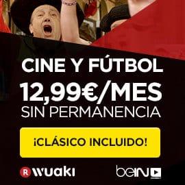 Black Friday en Wuaki TV Series y Fútbol baratos, ofertas en televisión