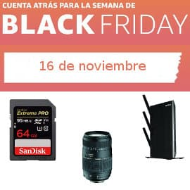 Cuenta atrás Black Friday 16-1, ofertas previas al Black Friday