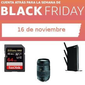 Cuenta atrás Black Friday 16-1, ofertas previas al Black Friday
