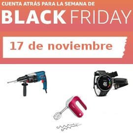 Cuenta atrás Black Friday 17-11, ofertas previas al Black Friday
