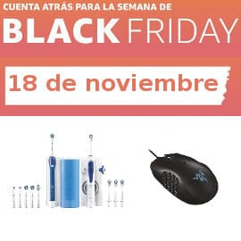 Cuenta atrás Black Friday 18-11, ofertas previas al Black Friday