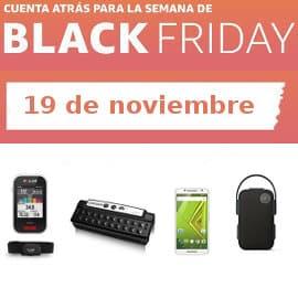 Cuenta atrás Black Friday 19-11, ofertas previas al Black Friday