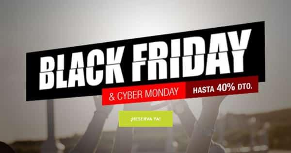 Descuentos Black Friday Sercotel, hoteles baratos, viajes baratos, chollos