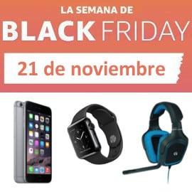 La semana del Black Friday. Ofertas del lunes, 21 de noviembre