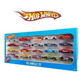 Pack 20 vehiculos Hot Wheels barato, juguetes baratos, ofertas en juguetes