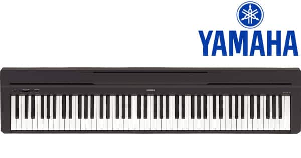 Piano digital Yamaha P-45B barato, pianos digitales baratos, chollo