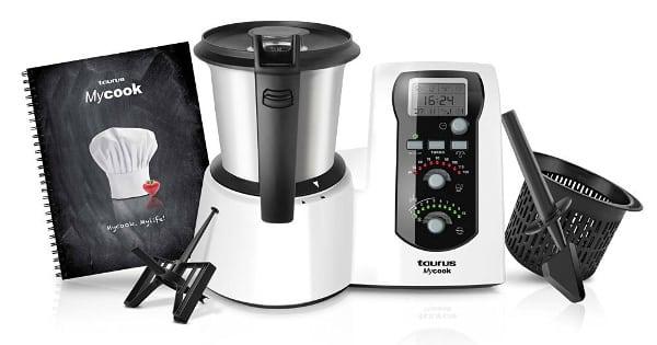 Robot de cocina Taurus Mycook Easy barato, robots de cocina baratos, ofertas en robots de cocina chollo