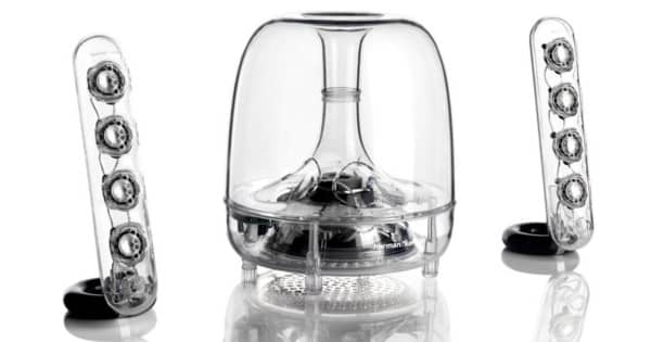 Altavoces de sobremesa Harman-Kardon Soundsticks III. Ofertas en altavoces, altavoces baratos, chollo
