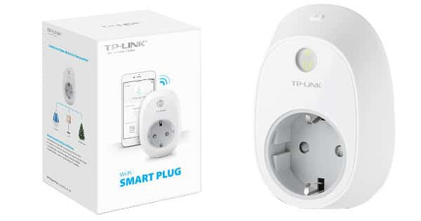 Enchufe inteligente WiFi TP-Link HS100 barato, enchufes WiFi baratos, chollo