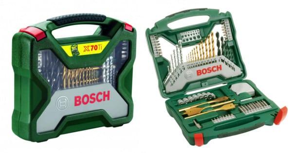 Maletín Bosch X-Line de 70 piezas. Ofertas en herramientas, herramientas baratas, chollo