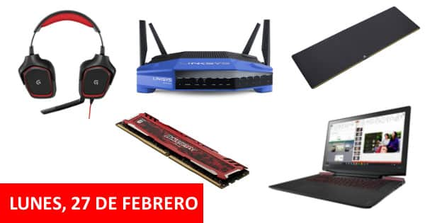 Gaming Week de Amazon. Chollos del lunes, 27 de febrero, chollo