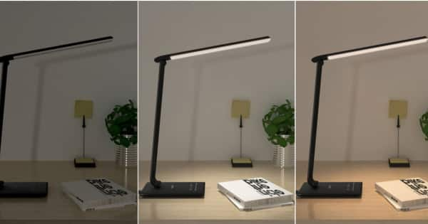 Lámpara LED de escritorio Aukey LT-T10. Ofertas en lámparas LED, lámparas LED baratas, chollo