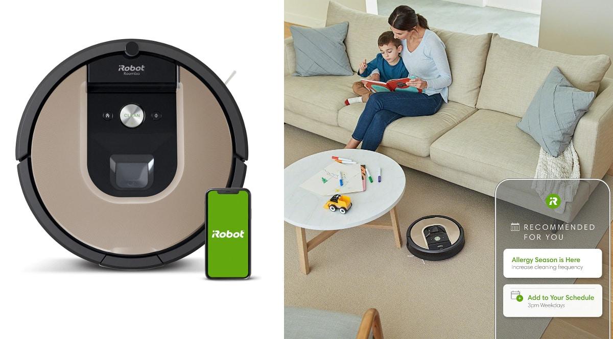 Robot aspirador iRobot Roomba 966 barato, robots aspiradores de marca baratos, ofertas hogar, chollo