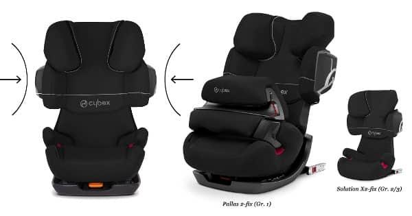 Silla de coche para bebé Cybex Pallas 2-Fix barata, sillas baratas, ofertas para niños chollo