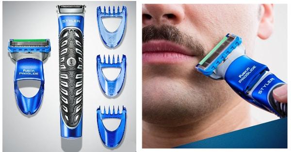 Máquina de afeitar multiusos Gillette Fusion Proglide Styler 3 en 1 barata, afeitadoras baratas, chollos