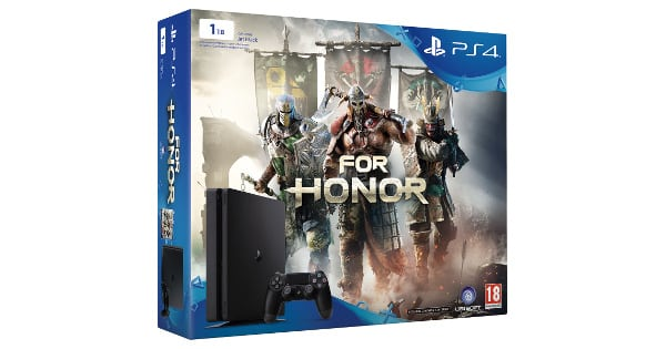 Pack consola Play 4 Slim 1TB + juego For Honor barato, consolas baratas, chollo