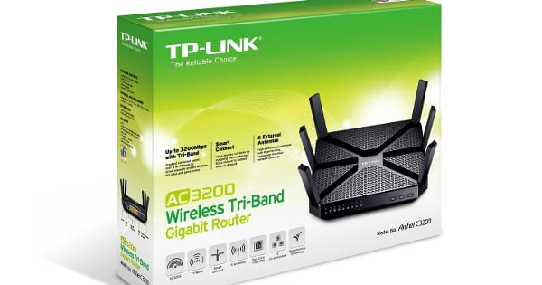 Router inalámbrico TP-Link Archer C3200 barato, routers baratos, chollo