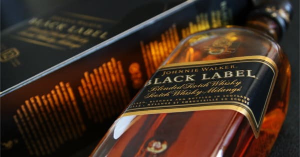 Whisky Johhnie Walker Black Label de 70cl. Ofertas en supermercado, supermercado barato, chollo