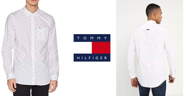 Camisa Tommy Hilfiger Dobby barata, camisetas baratas, ofertas en ropa, chollo