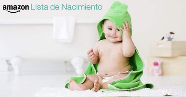 Lista de Nacimiento de Amazon, productos para bebés baratos, chollo