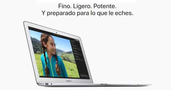 Portátil Apple MacBook Air 13.3 pulgadas barato. Ofertas en portátiles, portátiles baratos, chollo