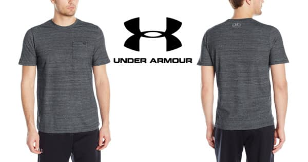 Camiseta de manga corta Under Armour Charged Cotton barata. Ofertas en ropa de marca, ropa de marca barata, chollo