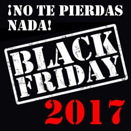 Black Friday 2017: No te pierdas nada, toda la información sobre el Black Friday 2017