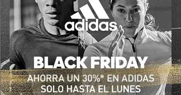 Black Friday en Adidas, chollo