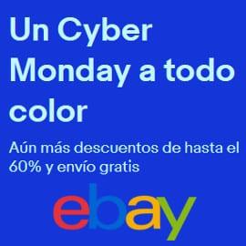Cyber Monday en eBay.