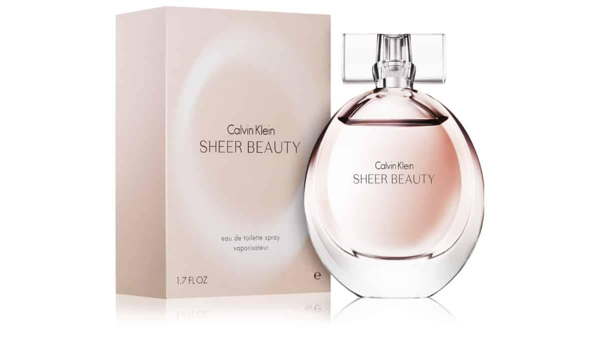 Colonia Calvin Klein Sheer Beauty barata, colonias de marca baratas, ofertas para regalar, chollo